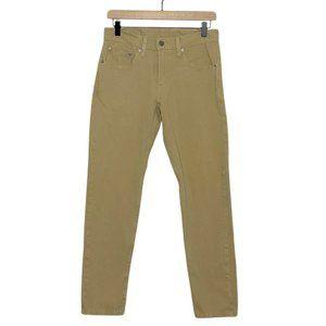 Levi's Tan Khaki 512 Slim Taper Warp Stretch Jeans